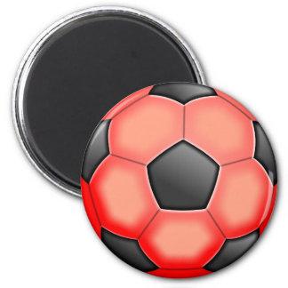 Colourful Soccer Balls Magnet