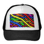 Colourful Spaghetti Mesh Hat