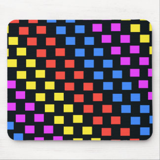 Colourful Squares Mouse Pad
