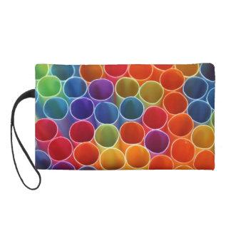 Colourful Straws Wristlet