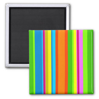 Colourful Stripes Magnets