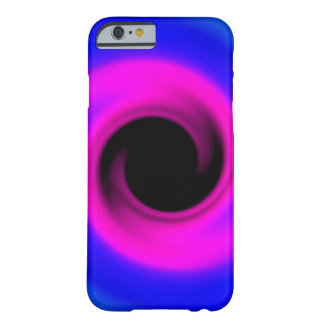 Colourful swirling black hole barely there iPhone 6 case