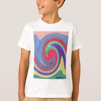 Colourful Tidal Wave T-Shirt