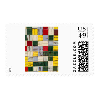 Colourful Tiles Postage
