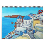Colourful Travels Calendar by Lisa Lorenz
