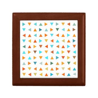 Colourful Triangles Gift Box