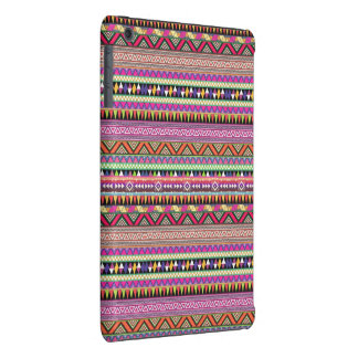Colourful tribal print ipad mini case