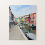 """Colourful Venice Jigsaw Jigsaw Puzzle<br><div class=""""desc"""">Have fun playing with this jigsaw while looking at the beautiful and colourful streets of Venice</div>"""