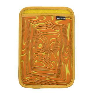 Colourful vertigo iPad mini sleeve
