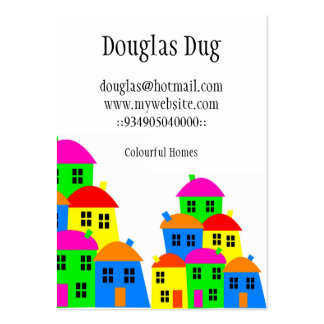 Colourful Village Business cards