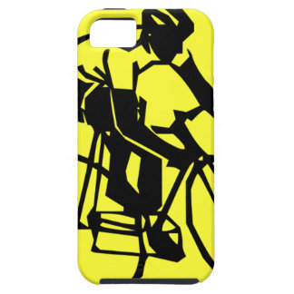 Colourful Yellow Bike Bicycle iPhone 5 Covers
