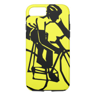 Colourful Yellow Bike Bicycle iPhone 7 Case