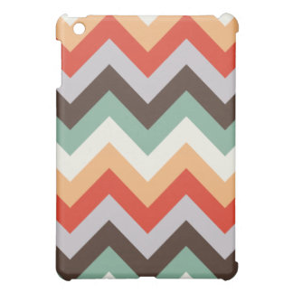 Colourful zigzag stripes cover for the iPad mini