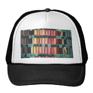 COLOURFUL ZIPS HATS