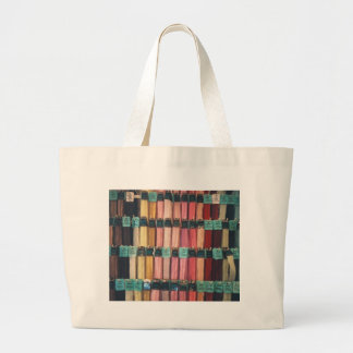 COLOURFUL ZIPS LARGE TOTE BAG