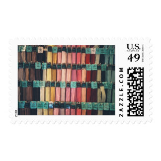 COLOURFUL ZIPS POSTAGE STAMPS