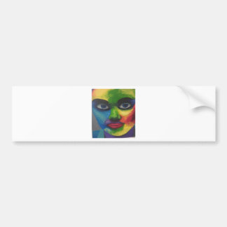 colourfull exsplosion bumper sticker