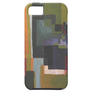Colourfull forma en agosto Macke Funda Para iPhone SE/5/5s