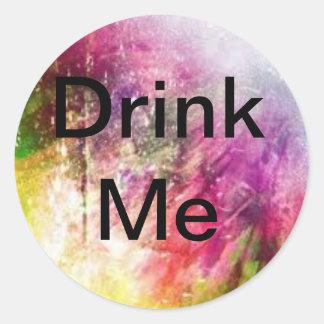 Colourfull Galexy DrinkMe sticker