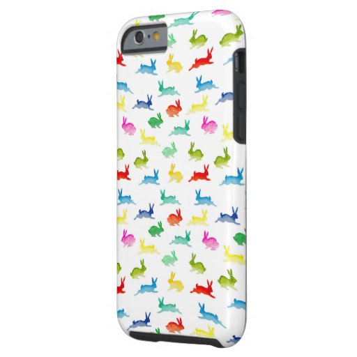 Colourfull ribbets tough iPhone 6 case