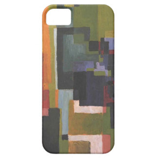 Colourfull shapes by August Macke iPhone SE/5/5s Case