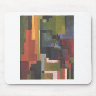 Colourfull shapes by August Macke Mouse Pad