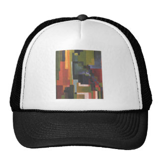 Colourfull shapes by August Macke Trucker Hat