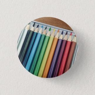 Colouring Pencils - Badge Pinback Button