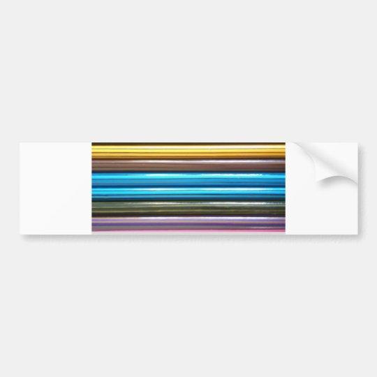 Colouring Pencils Bumper Sticker