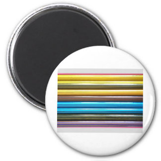 Colouring Pencils 2 Inch Round Magnet