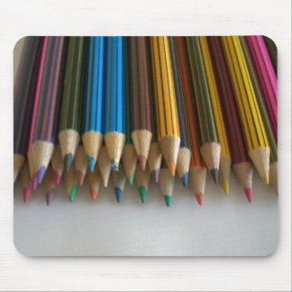 Colouring Pencils Mouse Pad