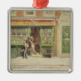 Colourman's Shop, St Martin's Lane, 1829 Metal Ornament