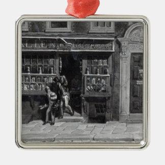 Colourman's Shop, St. Martin's Lane, London, 1829 Metal Ornament
