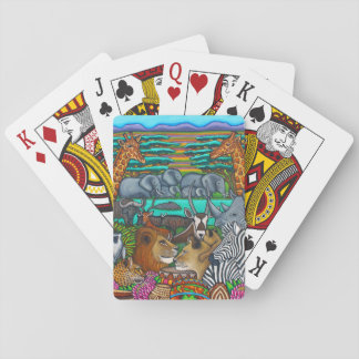 Colours of Africa Playing Cards