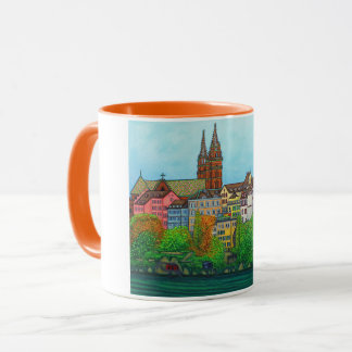 Colours of Basel Coffee Mug by Lisa Lorenz