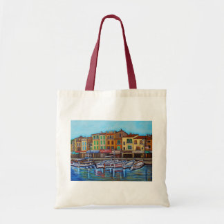 Colours of Cassis Budget Tote Bag by Lisa Lorenz