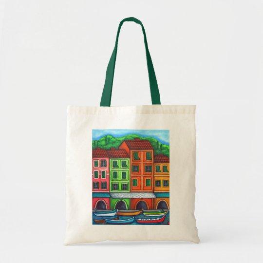Colours of Liguria, Italy Tote Bag