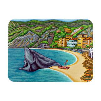 Colours of Monterosso Flexi Magnet