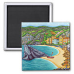 Colours of Monterosso Magnet