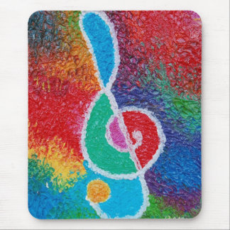 Colours of music Mousepad