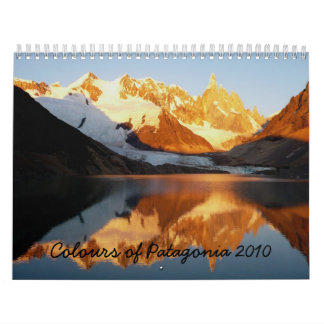 Colours of Patagonia 2010 Calendar