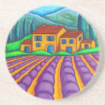 Colours of Provence Coasters by Lisa Lorenz