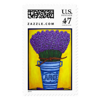 """Colours of Provence """"Lavender"""" Stamp"""