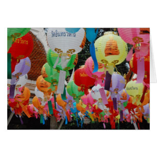 Colours of Thailand Greeting Card