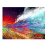 Colours of the Imagination - Rainbow World Postcard