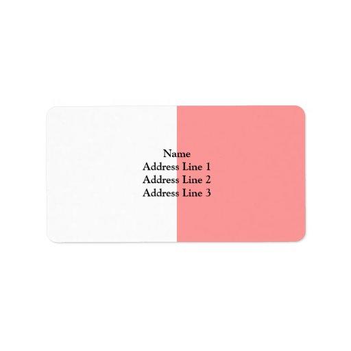 Colours Of Tyrone, United Kingdom Custom Address Label