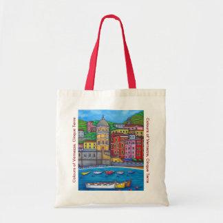 Colours of Vernazza, Cinque Terre Tote Bag