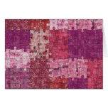 Colours Texture Puzzle Card