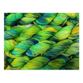 ColourSpun Handyed Yarn- Greens Postcard