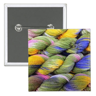 ColourSpun: Hilado natural, Mano-Teñido Pin Cuadrada 5 Cm
